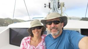 On our boat, Kama Hele