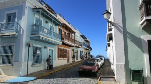 A classic view of old San Juan