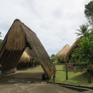 Kalinago Barana Aute where buildings are made using the traditional methods