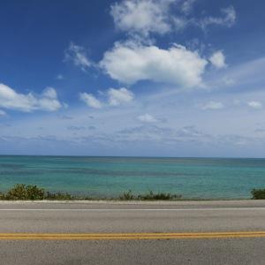 Driving down the Florida Keys
