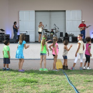 One night we attended a fundraiser for a local education cause in Delray Beach. The blues band rocked the house and taught the children a dance