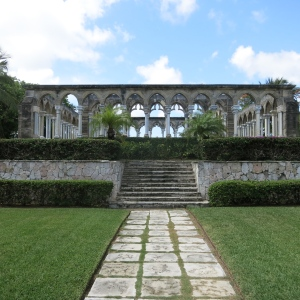 The Cloisters. Ruins from a french convent that was moved to the Bahamas