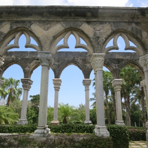 The Cloisters, near Nassau. Ruins from a french convent that was moved to the Bahamas