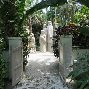 Ann Norton Sculpture Garden in West Palm Beach displays a variety of work by Ann Norton.