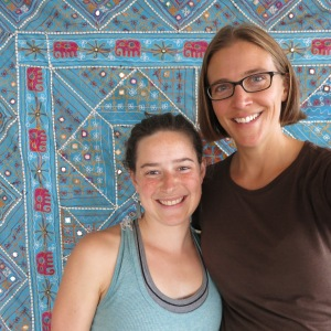 Megan was able to connect with Rachel, her old yoga teacher from Portland. Rachel and her husband relocated to Iceland a year and a half ago.