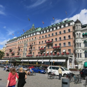 A typical beautiful summer day in Stockholm