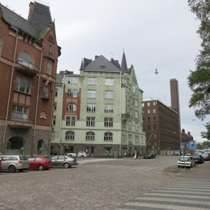 Helsinki, Finland is also full of interesting architecture. We found streets to be wider than in Stockholm and more modern buildings mixed in with the old ones.