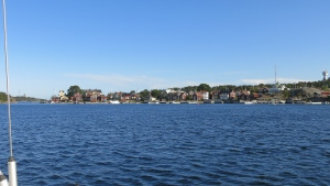 Sandhamn, a popular old town on the edge of the Stockholm archipelago.
