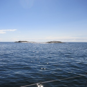 Navigating in the Baltic is difficult due to the quantity of small islets