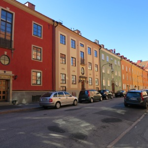 Yet another stunning street in Stockholm