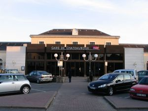 The train station at Châteauroux.