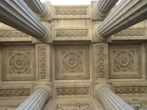 Fantastic architectural details are everywhere you look, even straight up.
