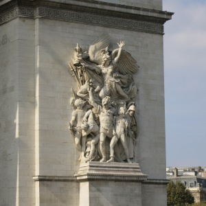 Sculpture on Arc de Triomphe