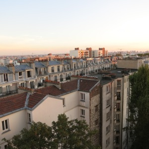 Paris chimneys are famous.