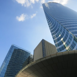 At La Défense.