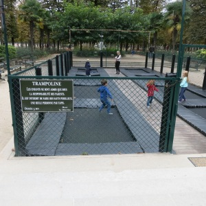 One of the many park attractions for children, this one in the large Jardin Tuileries, near the Louvre.