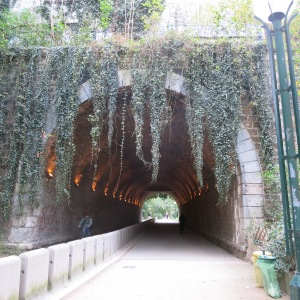 The Promenade Plantée. 4.5km of a metro line have been converted to a bike and pedestrian walkway through the heart of Paris.