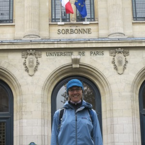 Megan will gladly tell you about the time she spent at the Sorbonne..........
