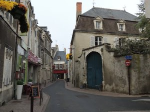 Châteauroux is full of charming old streets.