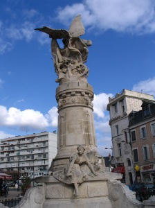 Memorial to those who died in the French Revolution.