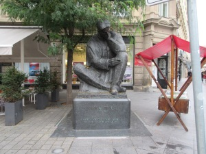 Nicolas Tesla was born in Croatia. This statue of him stands in the capital, Zagreb.