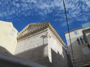 Jupiter's Temple. Diocletian believed he was a son of the god Jupiter.
