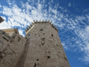 This tower was built by the Venetians in the 15th century, both to discourage locals from revolting and protect the town from Ottomans.