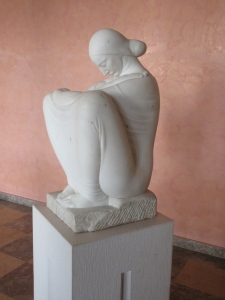 Ivan Meštrović is a Croatian sculptor who studied with Rodin and settled in Split. His mansion now serves as a museum of his work.