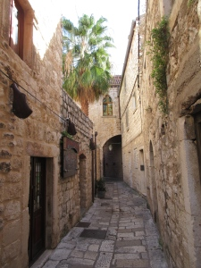 The old part of Hvar town is full of beautiful little streets.