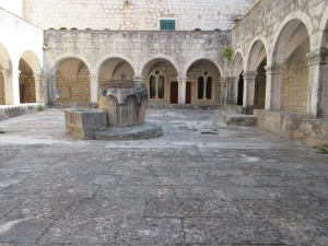 Water storage is important in this dry country. Most churches, like this one, created an internal courtyard that also served as a water catchment.