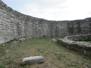 Salona ruins. You can see the mason's craft in these walls.