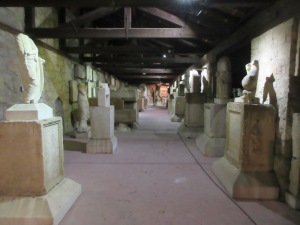 Our favorite museum in Split is the Archaeology Museum, which has many pieces from Salona.