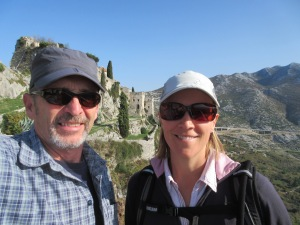 Us at Klis fortress