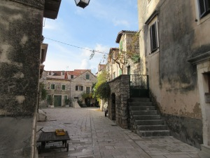 Stari Grad is full of these charming little courtyards and medieval stone houses.