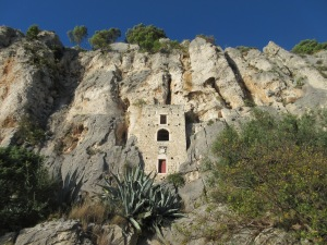 Another renaissance hermitage cave in Marjan Park, just outside Split.