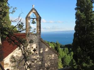 Renaissance chapel in Marjan Park, Split.