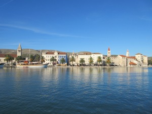 The old Trogir is on a small island with sea on all sides.