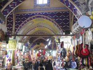Inside the Grand Bazaar.