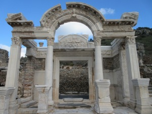 Temple of Hadrian.