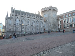 Part of the Dublin Castle.