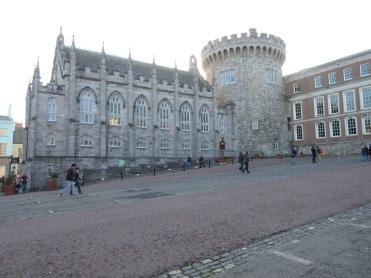 Part of the Dublin Castle.