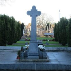 Michael Collins' grave in Glasnevin Cemetery.