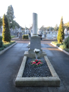 Grave of Arthur Griffith, first president of the Irish Free State and founder of Sinn Féin.