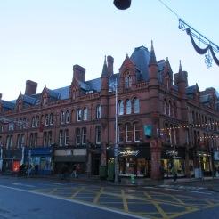 Beautiful ornate Dublin building.