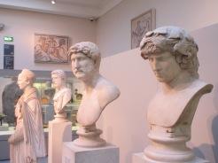 Hellenic busts, British Museum