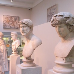 Hellenic busts, British Museum