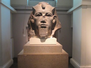 Sphinx bust, British Museum