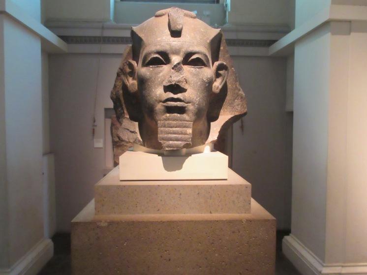 Sphinx bust, British Museum