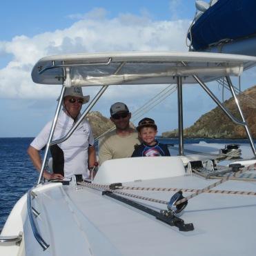 Sven, Brian, and Jackson