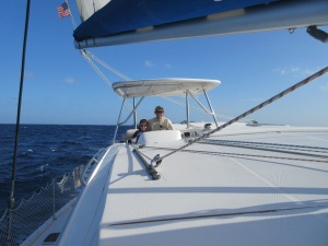 Jackson and Brian take the helm.